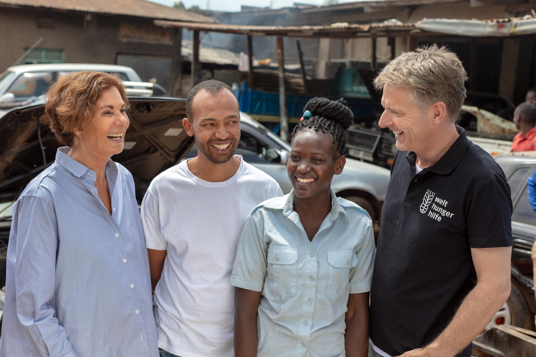 "Besuch bei ""Skill up!"" in Uganda"